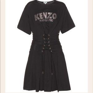 Kenzo Cotton Corset Dress